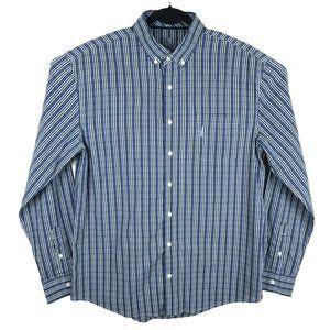 Johnnie O Prep Performance Blue Plaid Bamboo Shirt